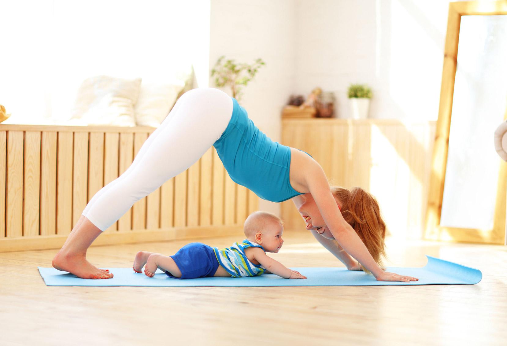 Yoga Mamãe-Bebê