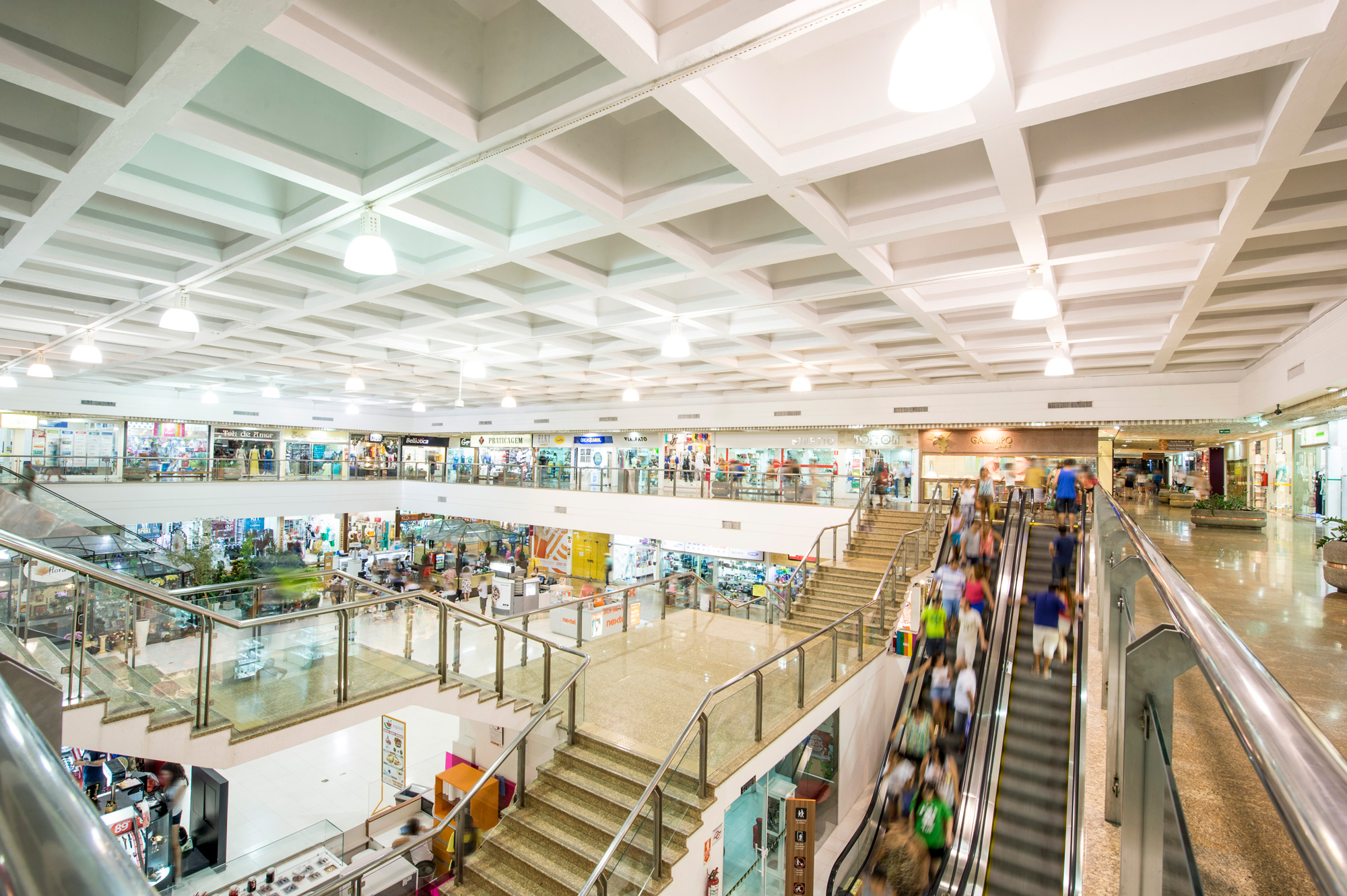 Shopping Parque Balneário Espera Grande Fluxo De Clientes No Dia Dos Pais