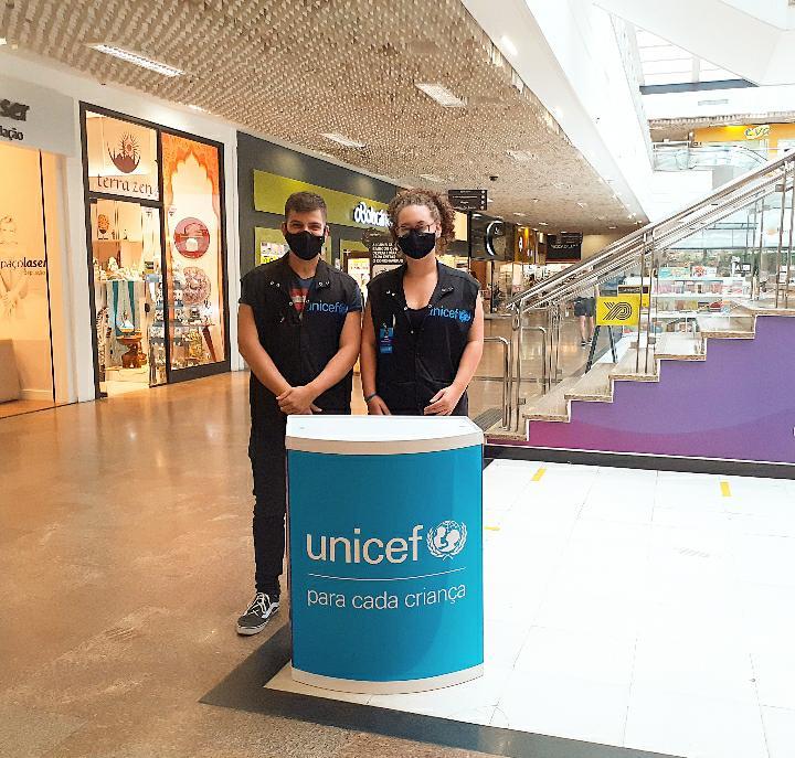 Shopping Parque Balneário recebe ação do UNICEF