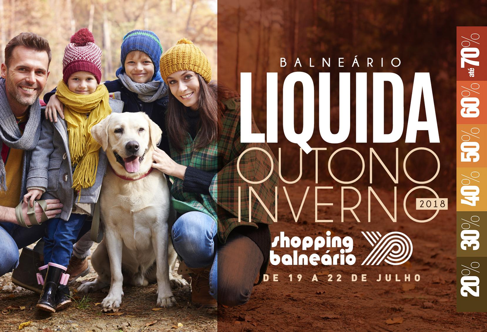 Shopping Parque Balneário Promove Segunda Edição Do 'Balneário Liquida'