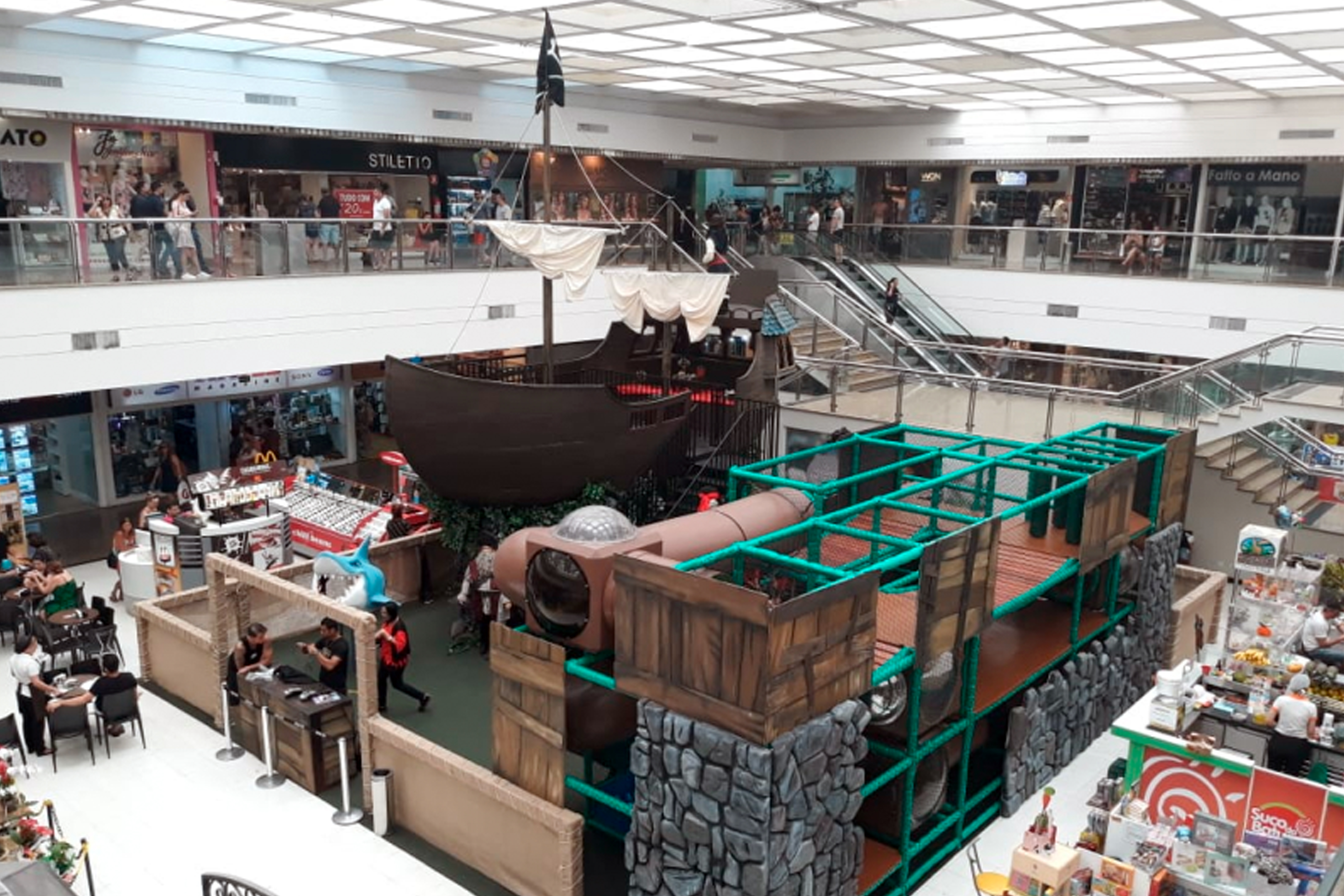 Neste Verão, Piratas Invadem O Shopping Parque Balneário