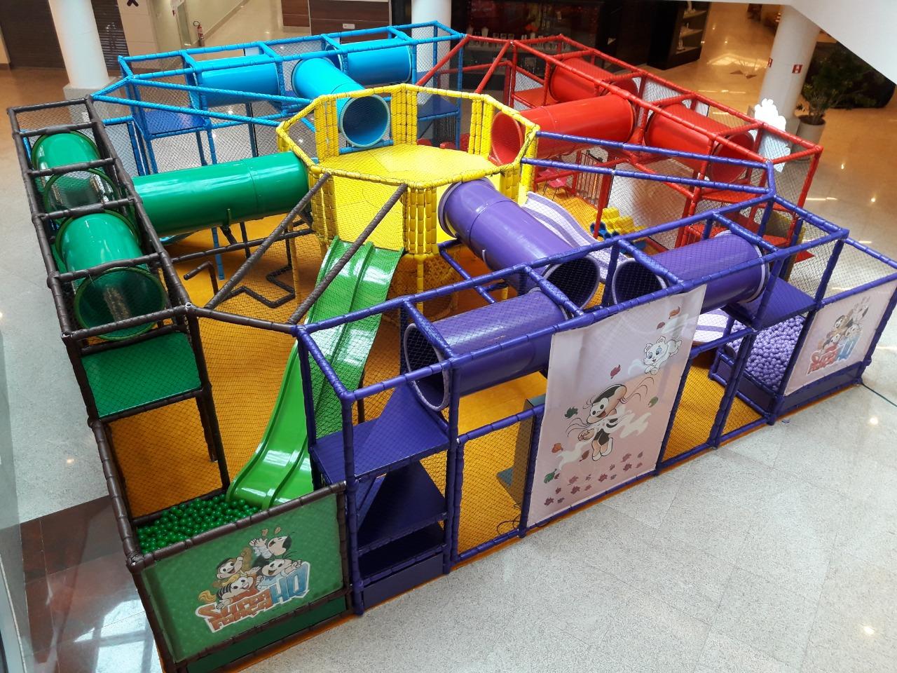 Shopping Parque Balneário Recebe Circuito Da Turma Da Mônica