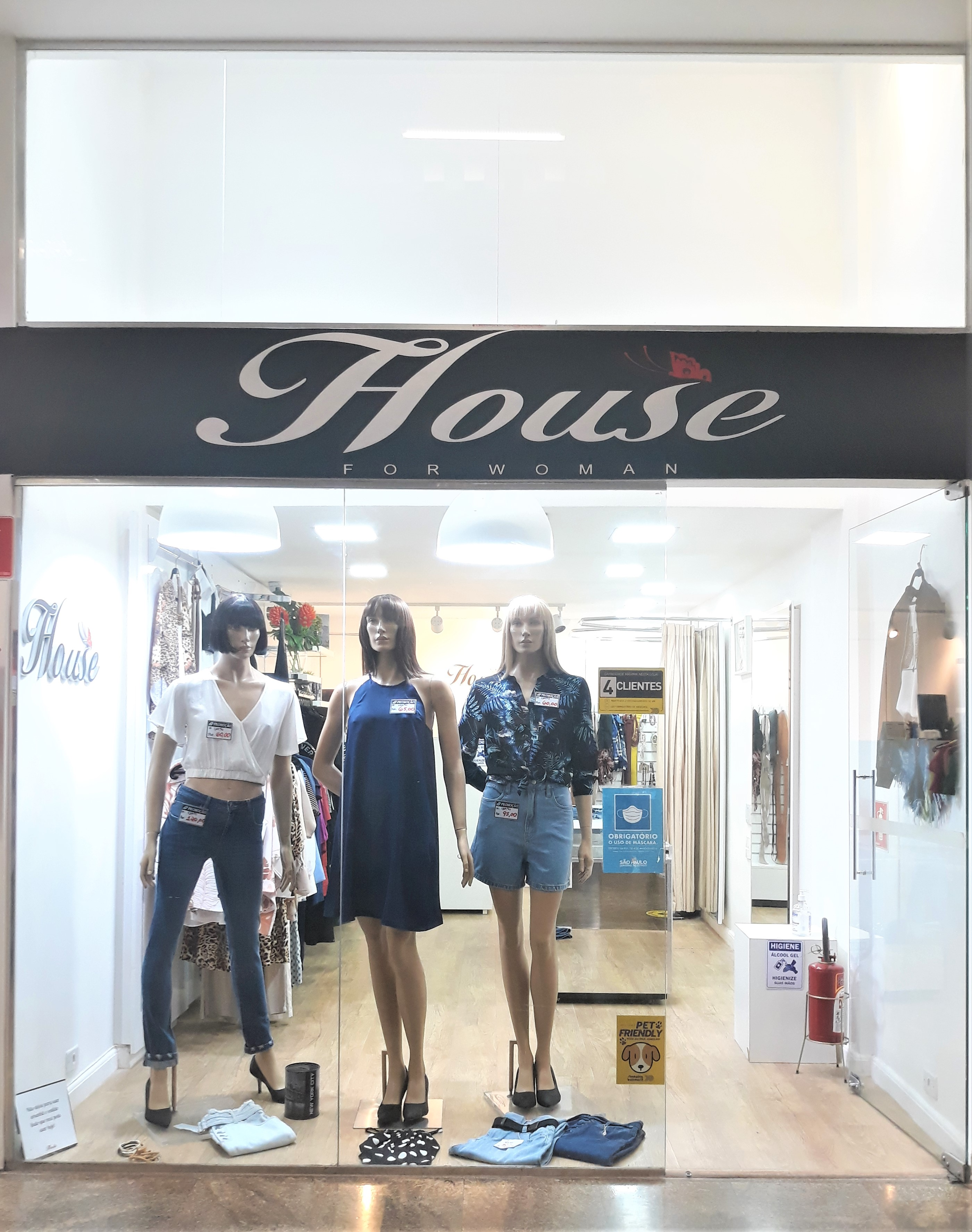 HOUSE FOR WOMAN