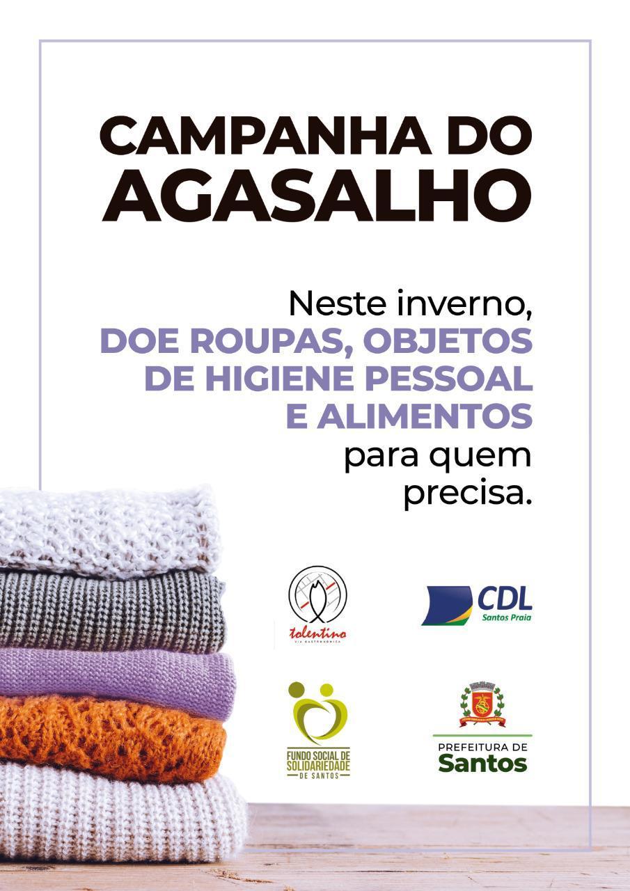 Shopping Parque Balneário Será Ponto De Arrecadação Para Campanha Do Agasalho