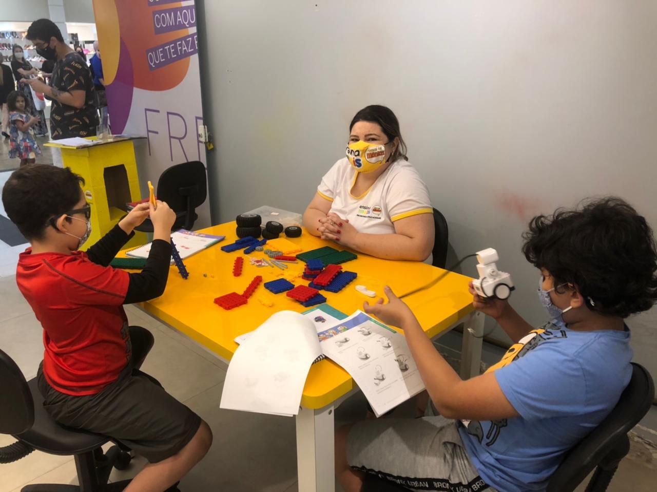Shopping Parque Balneário Promove Workshop De Robótica Educacional